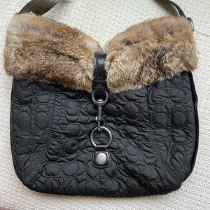 Brand new black vintage coach bag